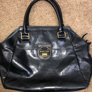 Black Genuine Leather Elliott Lucca Handbag